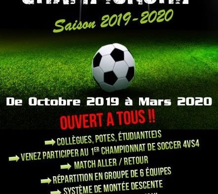 Championnat Indoor de Foot à 4