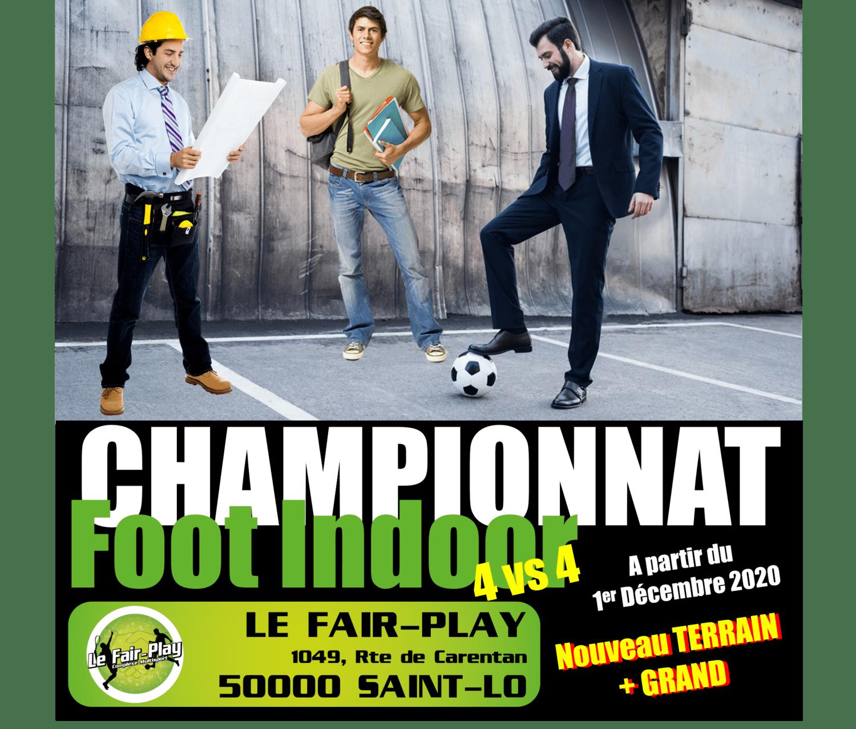 Championnat Foot Indoor 4vs4